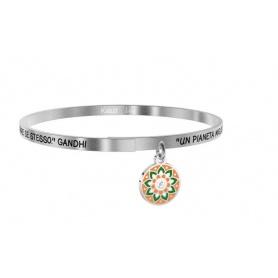 Kidult bracelet a better planet is a dream .. gandhi 731886