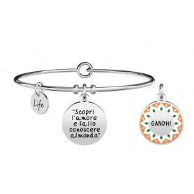Kidult bracelet discover love and ... gandhi 731885
