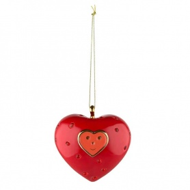 Christmas tree decoration ball Alessi Cuore e Cuora - MJ1611