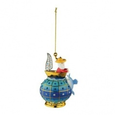 Alessi Christmas tree decoration ball The old man and the sea