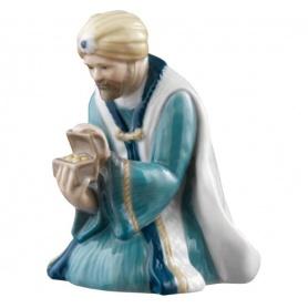 Statuina per presepe Melchiorre Royal Copenhagen - 5021026