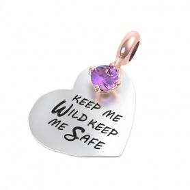 Rerum pendente cuore Keep me wild keep me safe- 25023