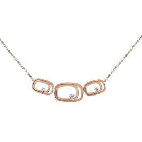 Annamaria Cammilli Serie Uno necklace in rose gold - GCO2809P