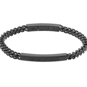 Emporio Armani Herrenarmband EGS2415001 schwarz