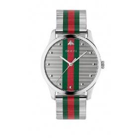 Orologio Gucci G-Timeless uomo verde rosso YA126284