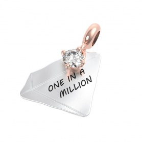 Rerum pendente Diamante One in a Million - 25049