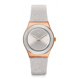 Swatch watches I Medium Standard gray sparkle - YLG145