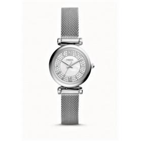 Fossil Carlie Mini steel women's watch - ES4837