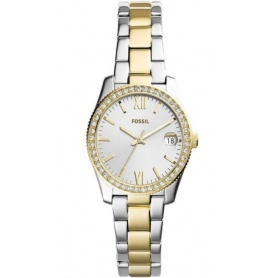 Fossil women's watch Scarlette in two-tone steel - ES4319