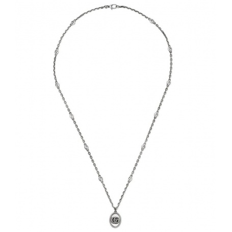 Gucci women's long necklace with double GG - YBB63254000100U