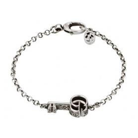 Gucci unisex bracelet with key and GG logo - YBA632207001018