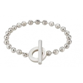 Gucci women's bracelet with striped spheres YBA602707001017