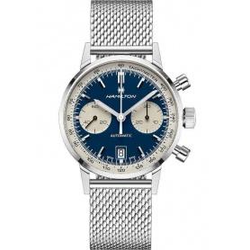 Orologio Hamilton Intra-Matic cronografo in acciaio - H38416141