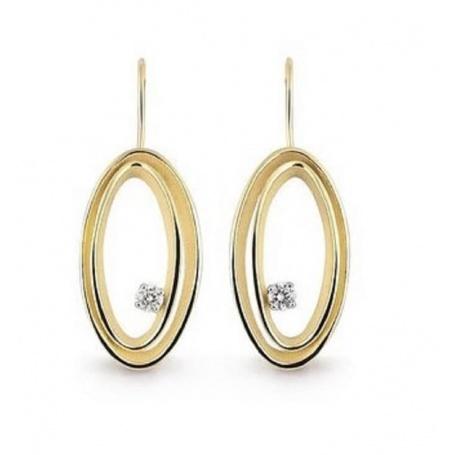 Annamaria Cammilli Serie Uno earrings in yellow gold GOR2776U