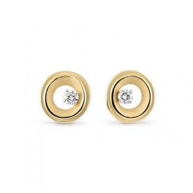 Orecchini Annamaria Cammilli My Way oro giallo e diamanti GOR2672U