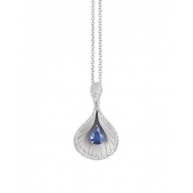 Annamaria Cammilli Premier Color Necklace with Diamonds and Sapphire