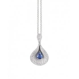 Collana Annamaria Cammilli Premier Color con Diamanti e Zaffiro