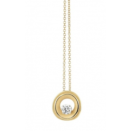 Annamaria Cammilli My Way necklace in yellow gold and diamonds GPE2670U