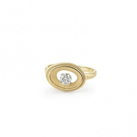 Annamaria Cammilli My Way Ring in Yellow Gold GAN2671U