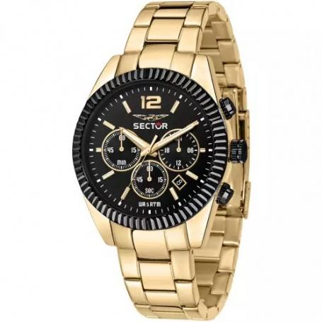 Sector240 men's gold watch - R3273640027