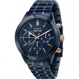 Sector670 men's chrono blue watch - R3253540005