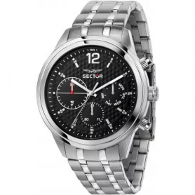 Sector670 men's silver watch - R3253540007