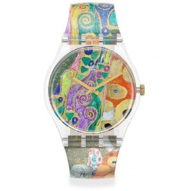 Swatch X Moma Gustav Klimt -GZ349 watch