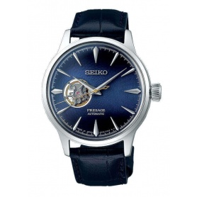 Seiko Presage Automatic Blue Leather Watch - SSA405J1