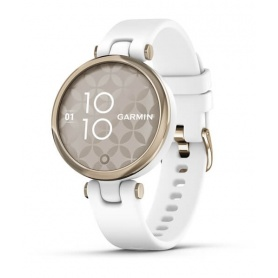 Garmin Lily smartwatch sport Cream / Gold silicone 0100238410