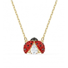 Swarovski Sparkling Dance necklace with ladybug pendant -5521787
