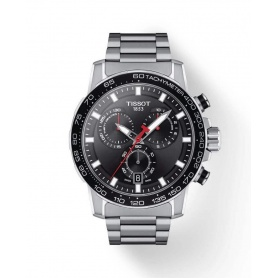 Tissot Supersport Chrono Gent watch in steel -T1256171105100