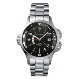 Orologio Khaki Navy  GMT - H77615133