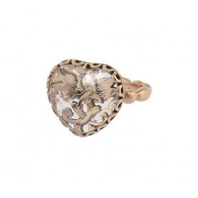 Laurent Gandini Coup de coeur ring in rose gold -163