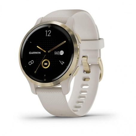 Garmin Venu2S Light Gold Smartwatch - Light Sand 0100242911