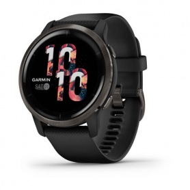 Garmin Venu2 Slate Smartwatch - Black 0100243011