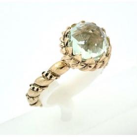 Laurent Gandini Torsade mini ring in rose gold -350