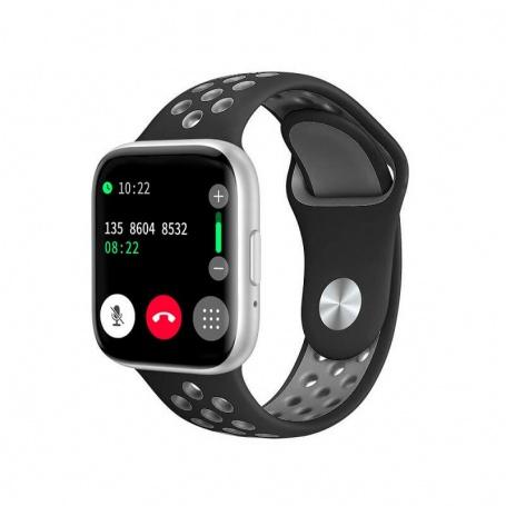 Tecnochic Smartwatch unisex silver and black -TCT9903129