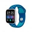 Tecnochic Smartwatch unisex Silver and light blue -TCT9904129