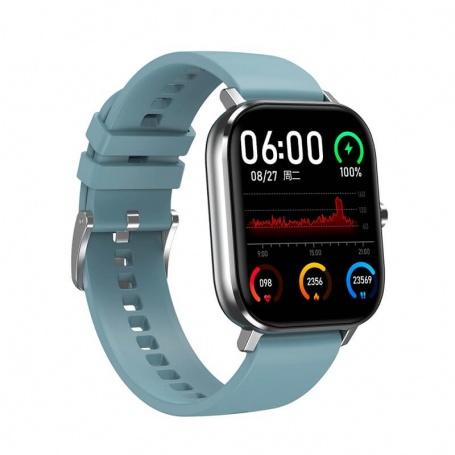 Tecnochic Smartwatch unisex Black and light blue -TCDT3505119