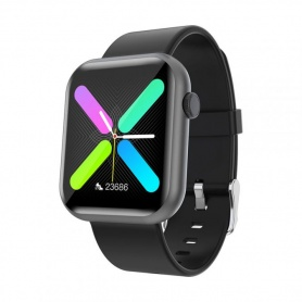Tecnochic Smartwatch Unisex grauer und silberner Stahl -TCR3L0189