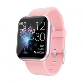 Tecnochic Smartwatch Unisex grauer und rosafarbener Stahl -TCR3L0289