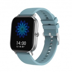 Tecnochic Smartwatch Silver and light blue -TCDT35plus0299