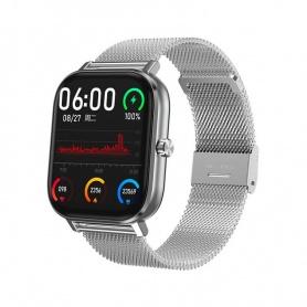 Tecnochic Smartwatch aus Silberstahl -TCDT35plus03105