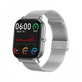 Tecnochic Smartwatch in silver steel -TCDT35plus03105
