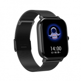 Tecnochic Smartwatch in black steel -TCDT35plus06105