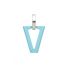 Valentina Ferragni Mono orecchino Uali Light Blue -DVF-OR-BA3
