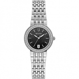 Bulova Classic Lady diamond watch Steel -96R241