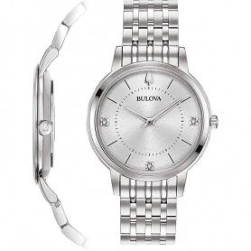 Bulova Ultra Slim Lady Watch Steel -96P183