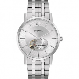 Bulova Clipper automatic watch with steel strap -96A238