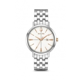 Bulova Aerojet Lady Steel Watch -98M130
